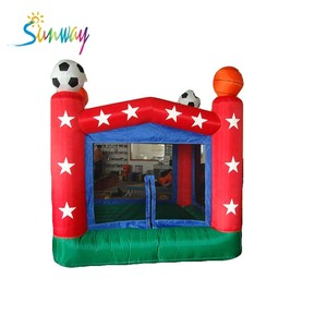 air bouncer inflatable trampoline, football mini inflatable bouncer