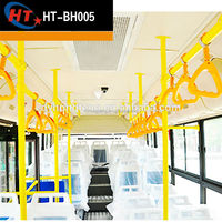 High quality ABS plastic yellow grey handrail for bus