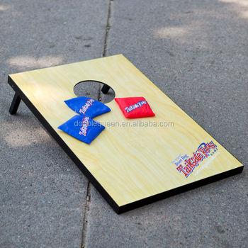 plastic corn hole bean bag toss game outdoor game game table - Bean Bag Toss Game