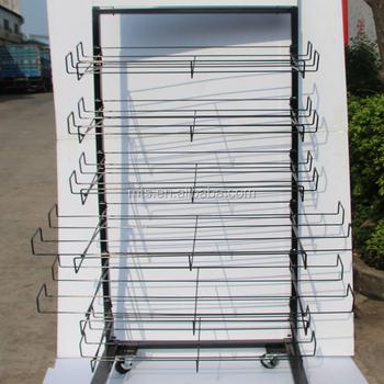 Metal Stylish Carpet Display Rack