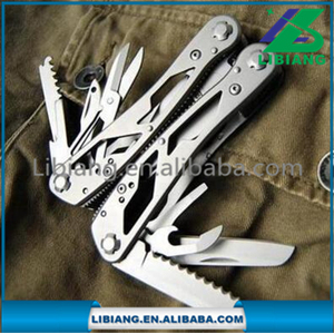 High Quality Outdoor Stainless Steel Multifunction Plier With 12 Etral Tools