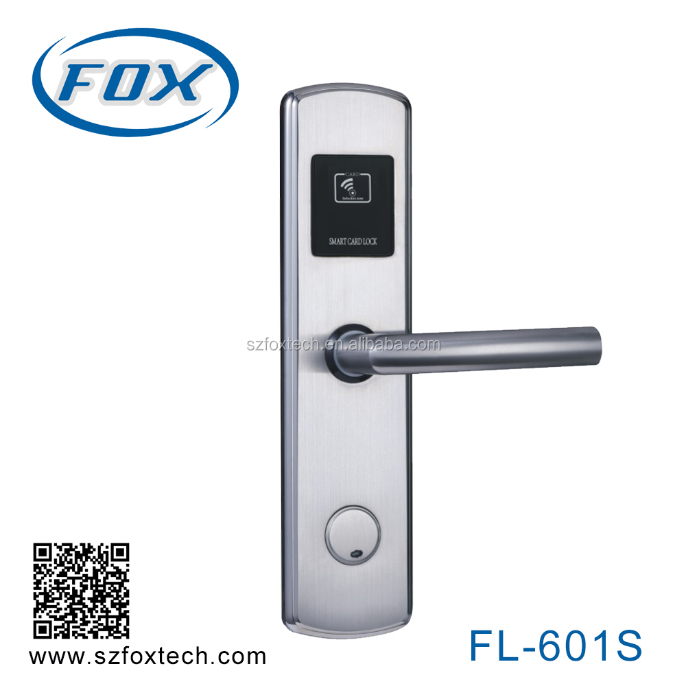 FOX Electric Rim Lock With Waterproof For Door Electronic Door Lock