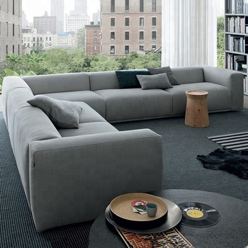 Latest Fabric L Shaped Sofa Set Designs