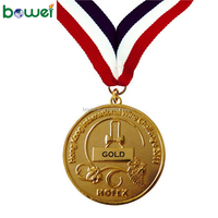 Manufacturer Custom 3D Professional Metal Cheap Design Your Own Gold Silver Bronze Medals