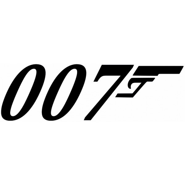 Bond 007 Logo Ja...007 Logo White