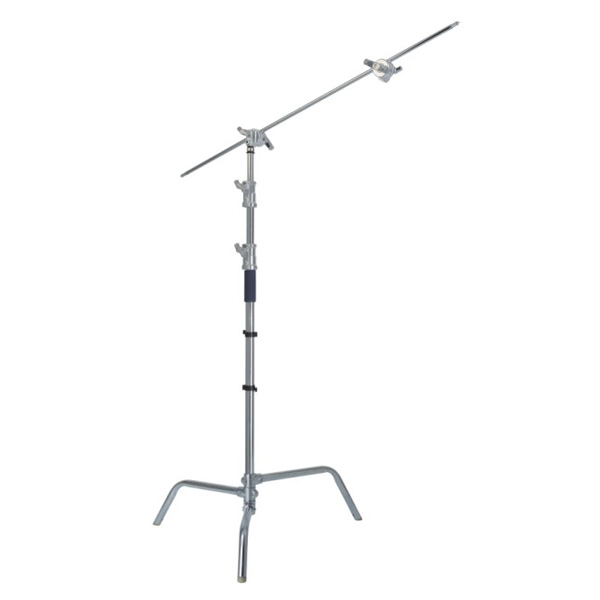10.8' C (Century) Light Stand Kit w/40 Grip Arm & 2 Gobo Heads and Baby Pin - Chrome фото