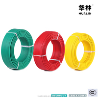 HUALIN THHN / THWN PVC / Nylon Copper Conductor Electrical Wire