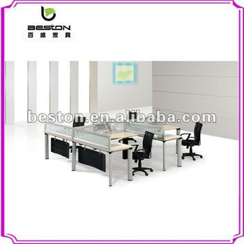 New Design Aluminum Office Desk Partition Glass Partitions 320 003