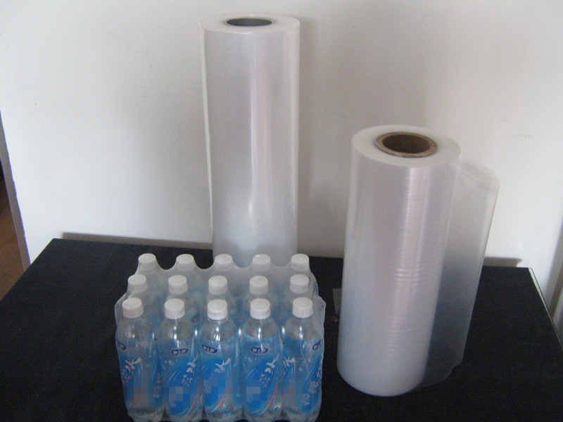 PE heat shrink film for packaging