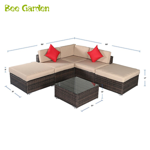 Outdoor furniture wholesale PE rattan wicker dining outdoor furniture for coffee shop and patio