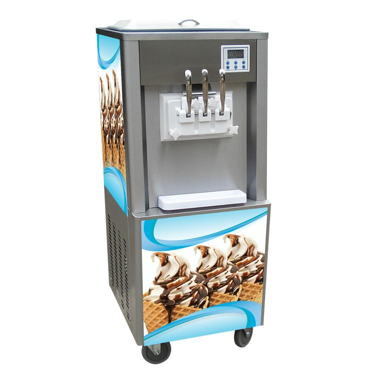 Factory Direct Sale Soft Ice Cream Making Machine / Ice-Cream Machine for Sale