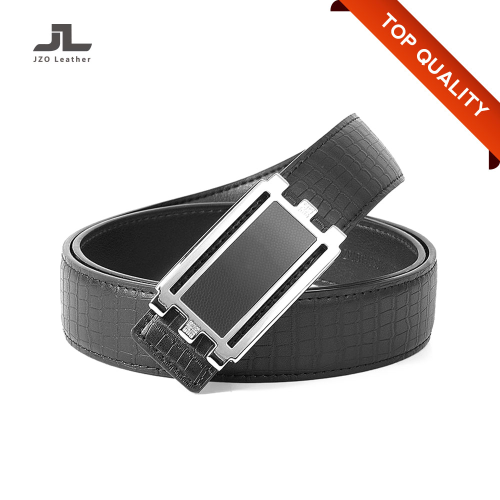 Guangdong Auto Lock Buckle Men's Business Automatic Genuine Leather Belt