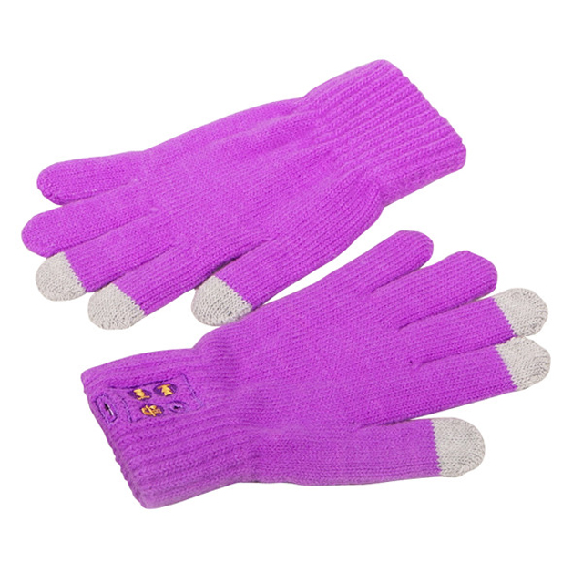 Winter touch screen gloves 3 Fingers Acrylic Winter Touch Screen Gloves 3 Fingers screen touch gloves