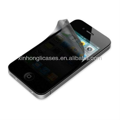 Newest superior quality for iphone5 mirror privacy screen protector,for iphone5 screen protector