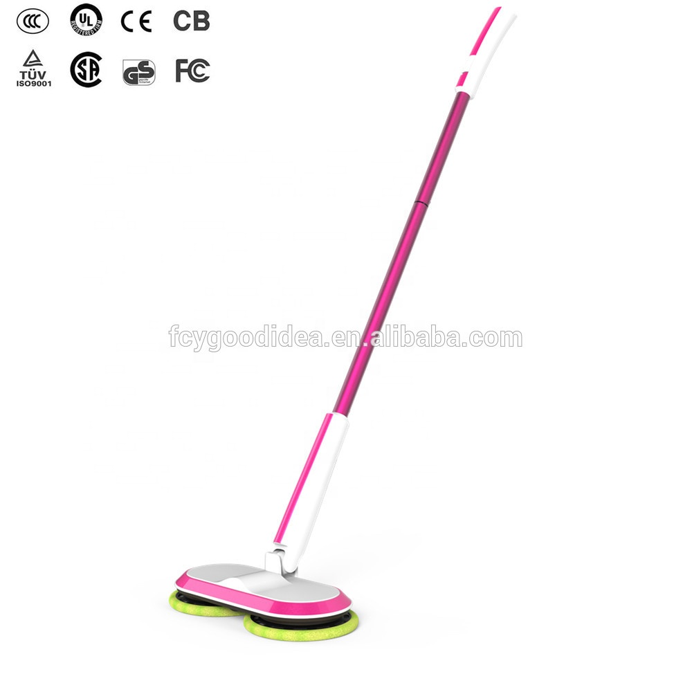 New product2018selling online india mops magic floor cleaning, home floor  sweeper using more battery with 4 replaceable pads
