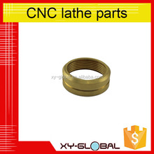 Customized High Precision Brass CNC Machined Ring Parts