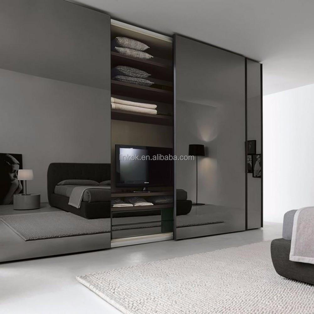Lacca di alta qualità camera da letto armadio scorrevole made in foshan