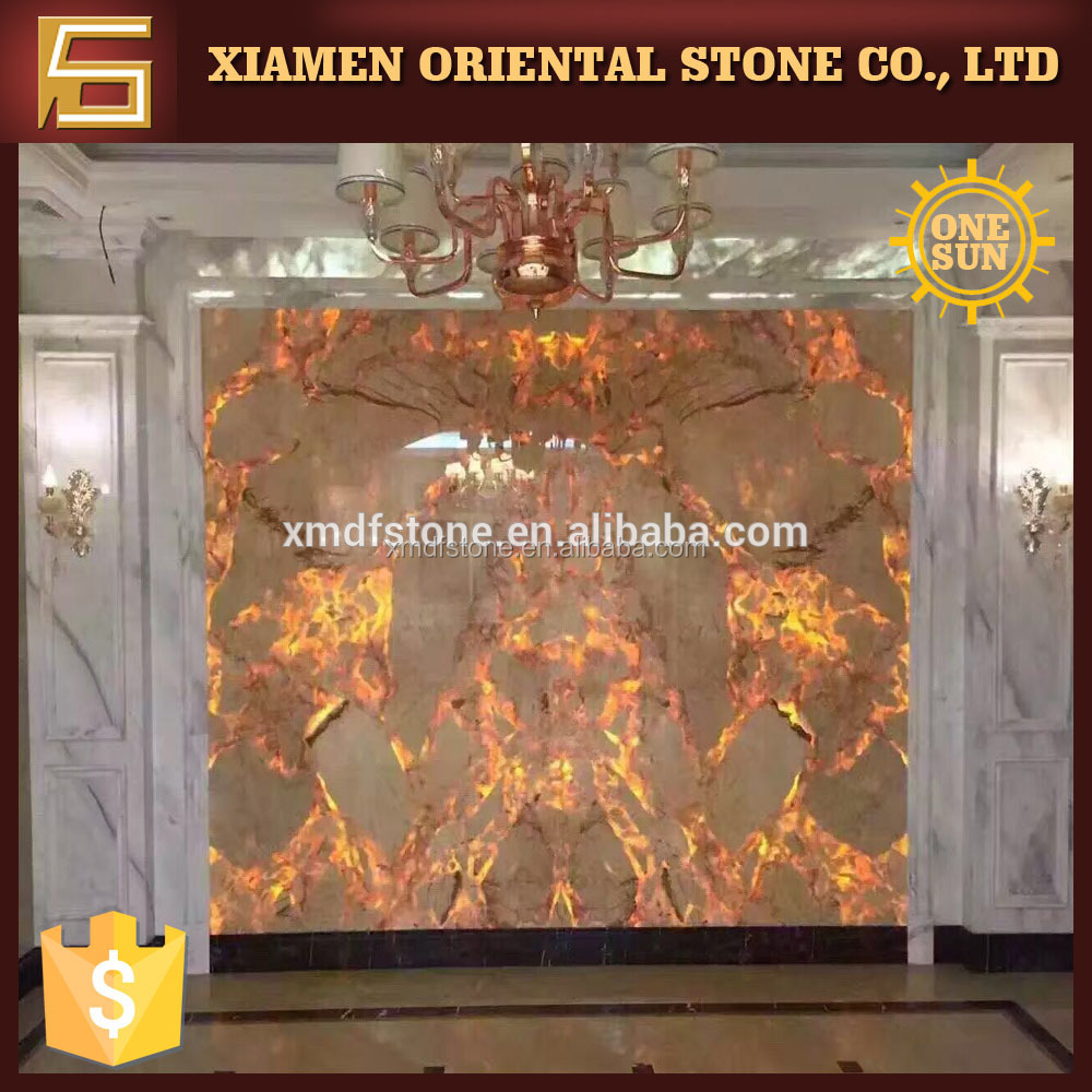 golden phoenix yellow marble for background wall