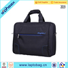 With handle and strap 15 inch laptop case for men