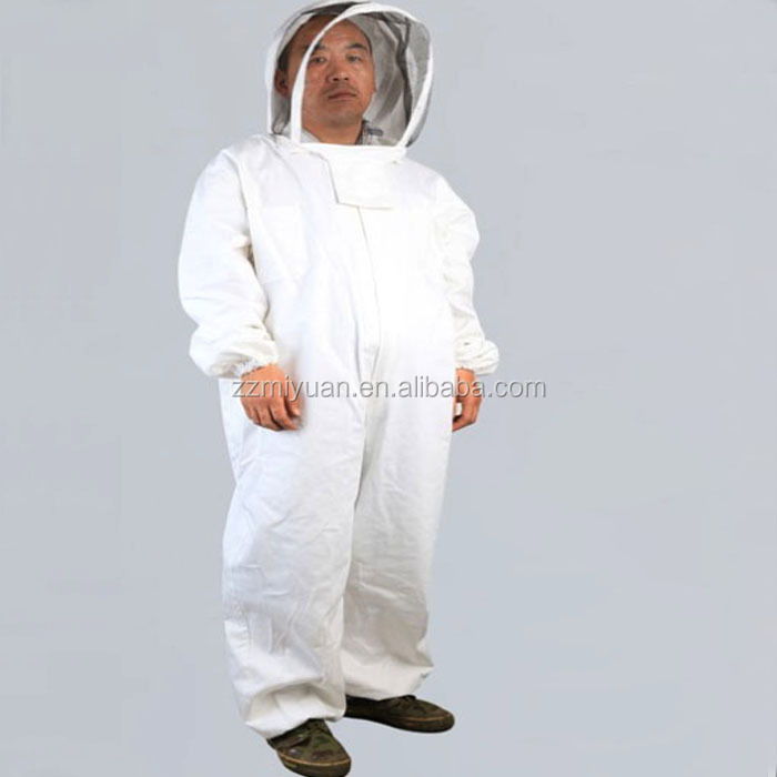 Safety Whole Body Protective Beekeeping Bee Suit/ Cotton Beekeeper Bee Suit