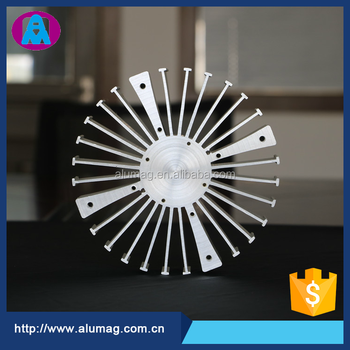 Top10 China OEM factory supplier aluminum circular heat sink