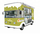 Roll Fried Ice Cream Machine Food Truck/ Fast Food Truck/ Mobile Food Trailer