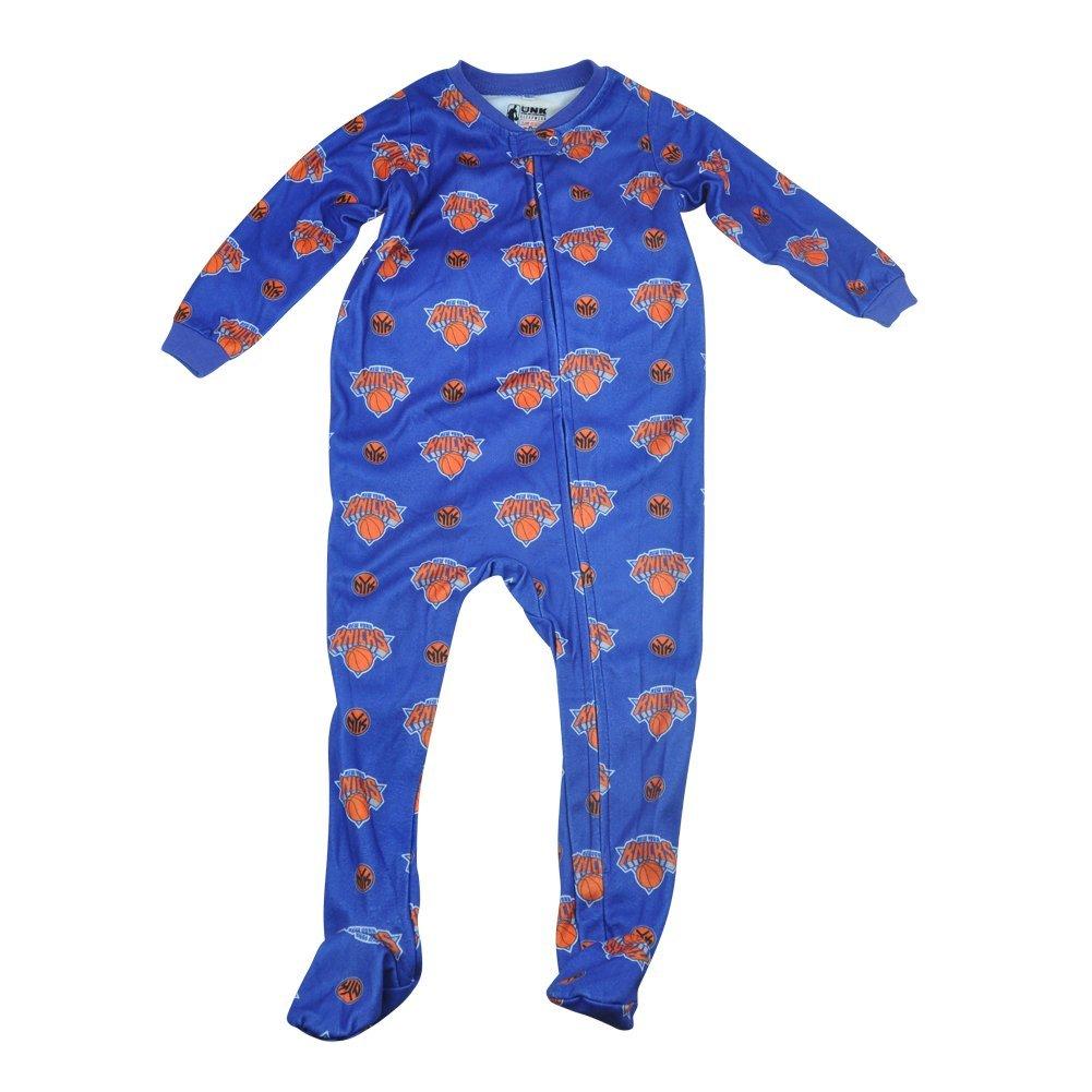 123f1d950119 Get Quotations · NBA UNK New York Knicks NY Toddler Footed Pajamas Bodysuit  Zipper Sleep Wear