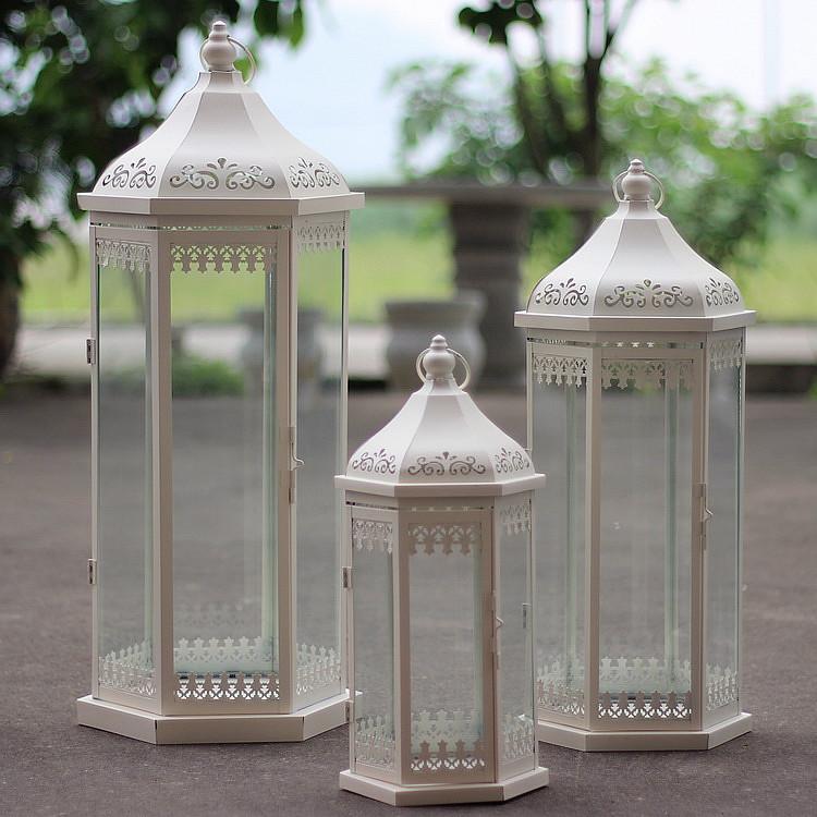 achetez en gros grand lanternes en plein air pour bougies en ligne des grossistes grand. Black Bedroom Furniture Sets. Home Design Ideas