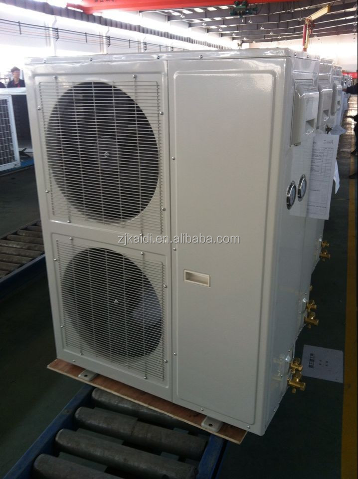 Box Type Copeland ZB-38 compressor Refrigeration condensing Unit for fruits