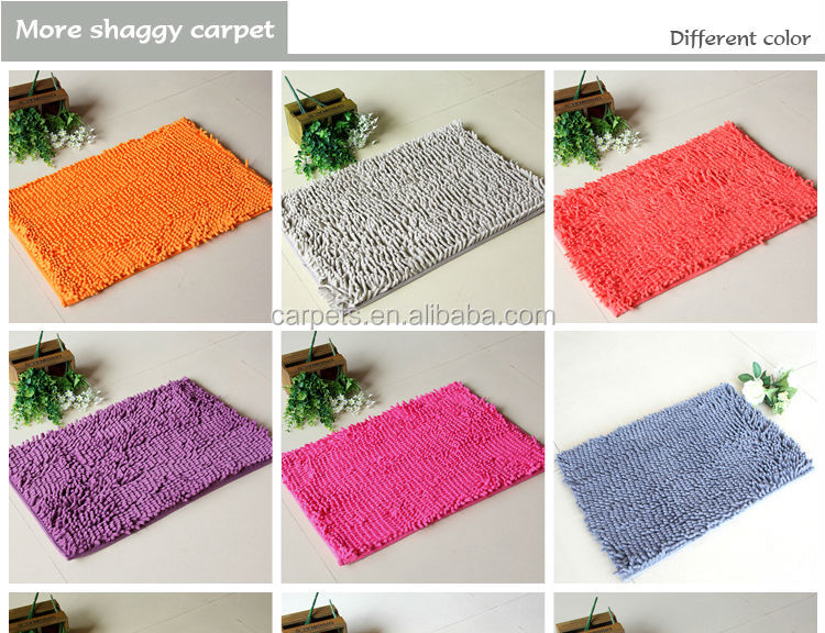 Eco Friendly Microfiber Colorful Striped Rug Buy