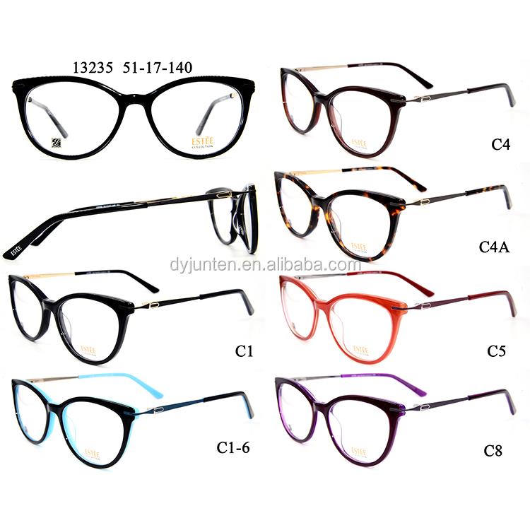 Venta al por mayor tendencias en monturas de gafas para mujer-Compre ...