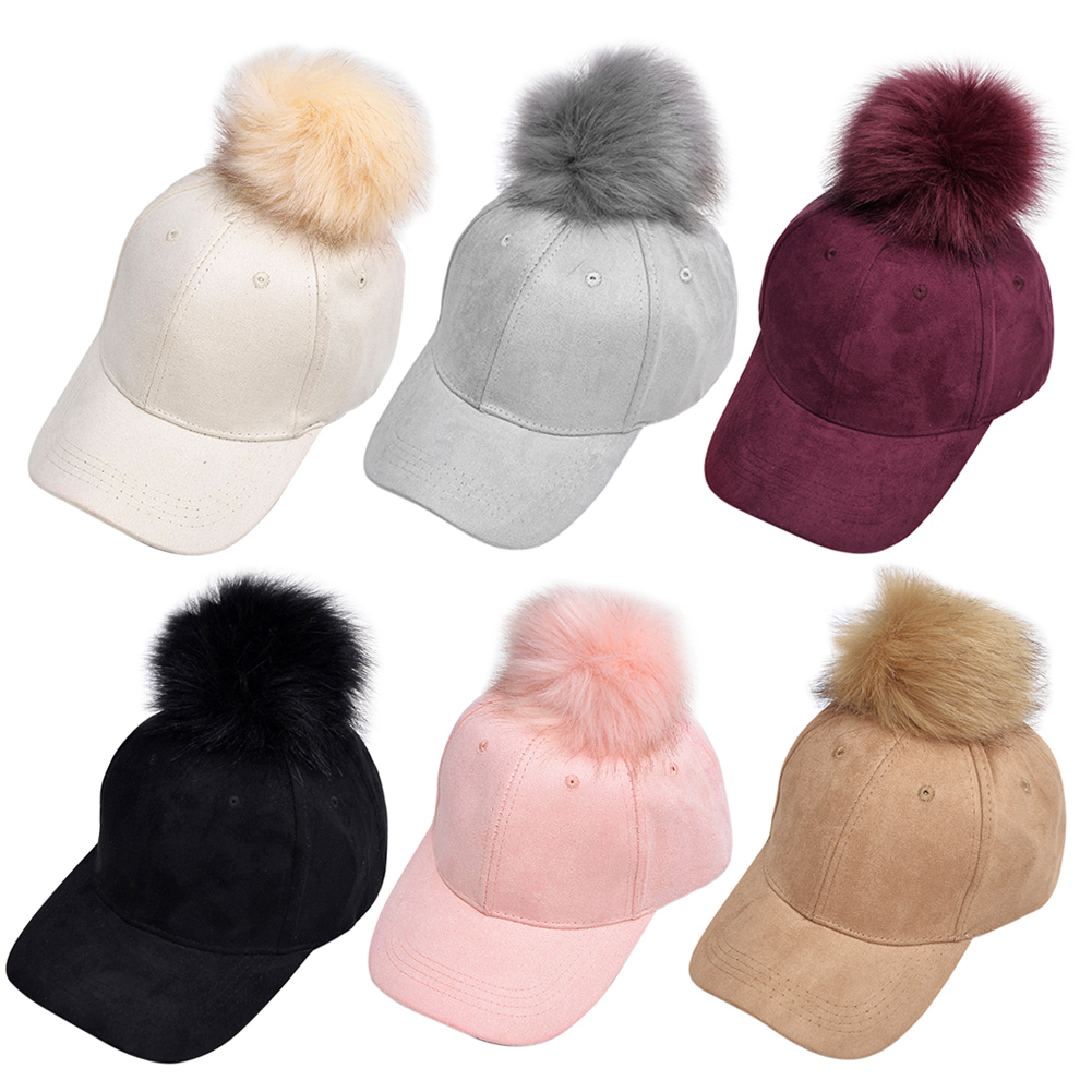 Detail Feedback Questions about Unisex Suede Baseball Hat Women Faux ... a8cfc2f6d62