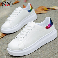 Alibaba Wholesale 2018 woman Fashion Casual Shoes woman White Shoes