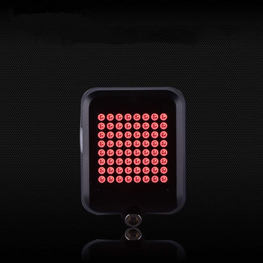 Mercery Intelligent Induction Brake Steering Bicycle Taillight Powerful Mountain USB Rechargeable Bicycle Rear Lights Waterproof Bike Taillight LED red Warning Flashing Rear Lamp Super Bright Tail-lam