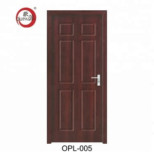Latest Design Reasonable Price Nice Model Plywood Inn Main Entrance Door
