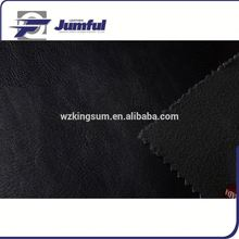 woven backing technics pvc leather space leather