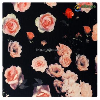 rose motif imprim tissu pour housse de couette buy tissu imprim motif rose tissu imprim. Black Bedroom Furniture Sets. Home Design Ideas