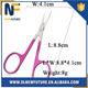 Stainless Steel Eyebrow Scissors, Eyelash Nose Hair Cutter Trimmer Makeup Tools