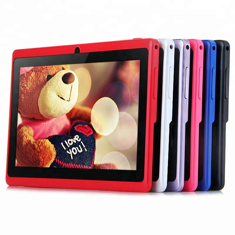 "Nizza 7 ""hot allwinner a33 tablet android senza sim card Q88 8 gb tablet touch screen"