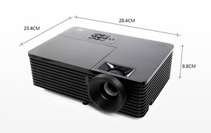 High quality VS131 3000 lumens 3d cl720 led projector with built in dvd player