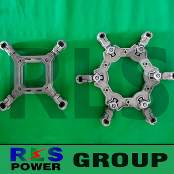 Electric power fittings/Overhead Power Line Accessory /Square Frame Spacers Dampers