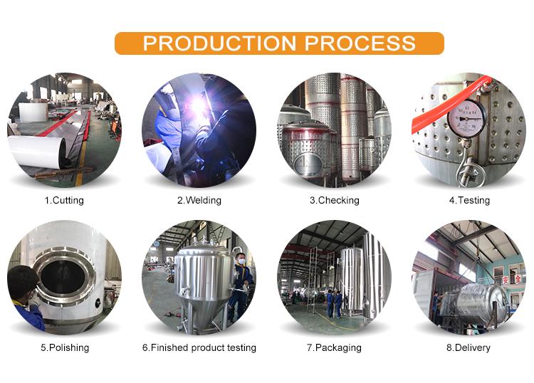 20BBL बीयर शराब की भठ्ठी पक उपकरण के लिए टर्नकी शिल्प शराब की भठ्ठी प्रणाली