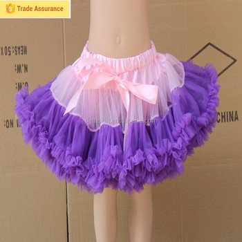 Children ruffles skirt colorful Tutu for kids multi layers fluffy little girls Beautiful Fancy skirts