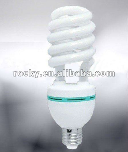 12mm 36w half spiral cfl lamp