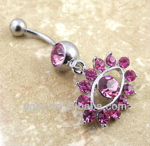 Wholesale dream catche dangle belly button rings