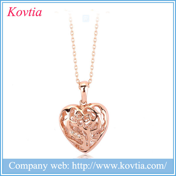 Dubai gold heart designs necklace wholesale china jewellery women dresses