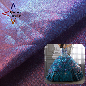 Sparkle organza dress material