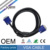 SIPU high quality 1 meter 15 pin male to male 3+6 vga cable