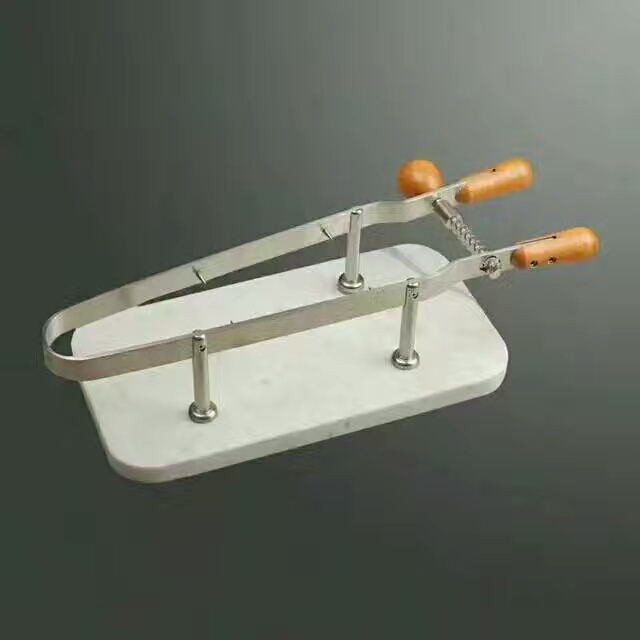 ham bacon stand racks holders supporters clamers,bacon ham slicing knife slicer,plastic wall or table mounted knife racks