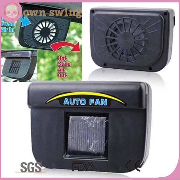 Solar Powered Car Auto Air Vent Cooling Fan System/Car Auto Cool Air Vent Cooler Cooling Fan/Window Cool Air Vent Auto Fan
